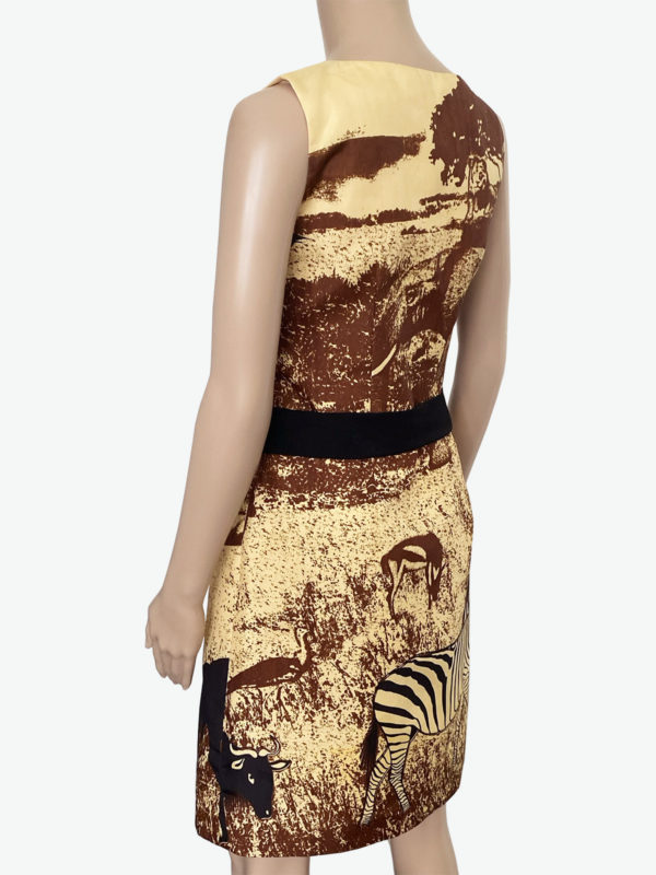 Dress with animal print, Fair Fashionista v2.0